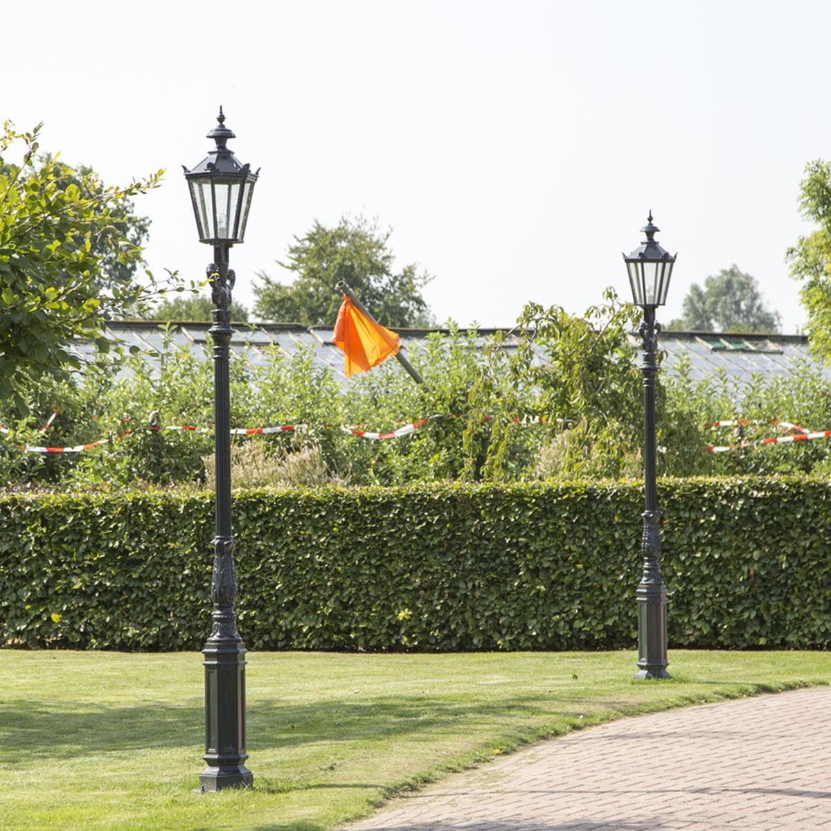 Historische Außenlaterne Gartenlampe Klassische Gartenlaterne Magdeburg
