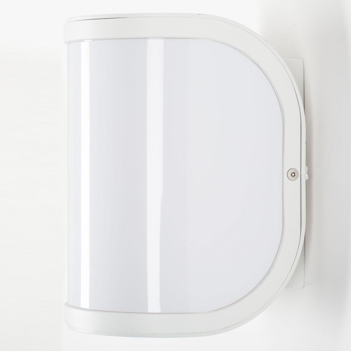 Wandlampe Vail White
