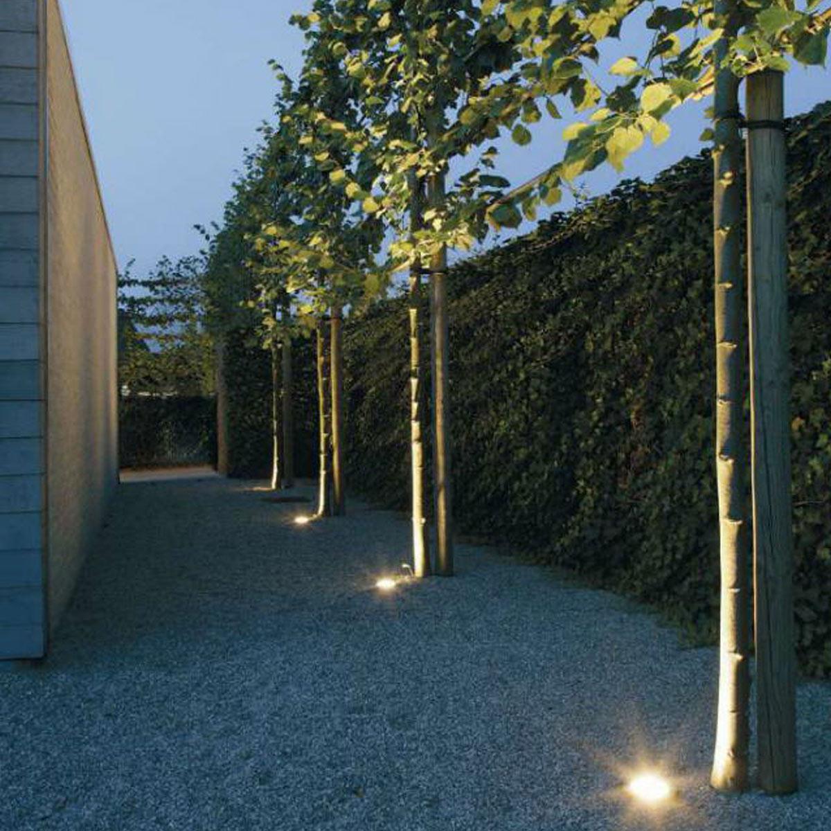 Außenbeleuchtung Bodeneinbauspot Ø10 GU10 Fassung