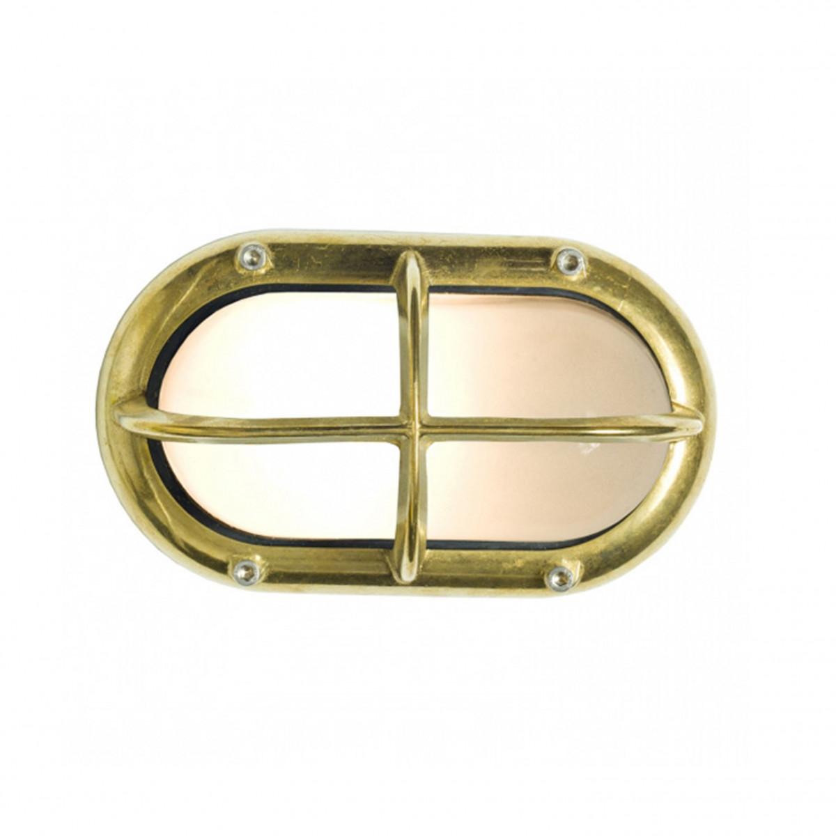 Robuste Außenleuchte Oculus Bronze