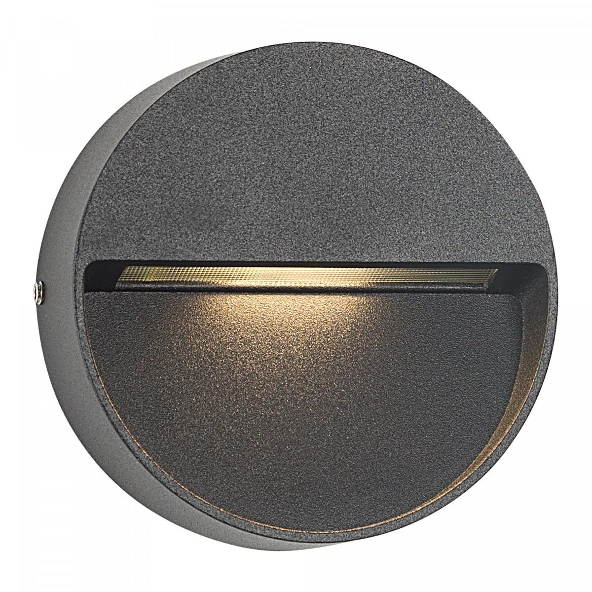 Wandspot LED Shadow downlighter round