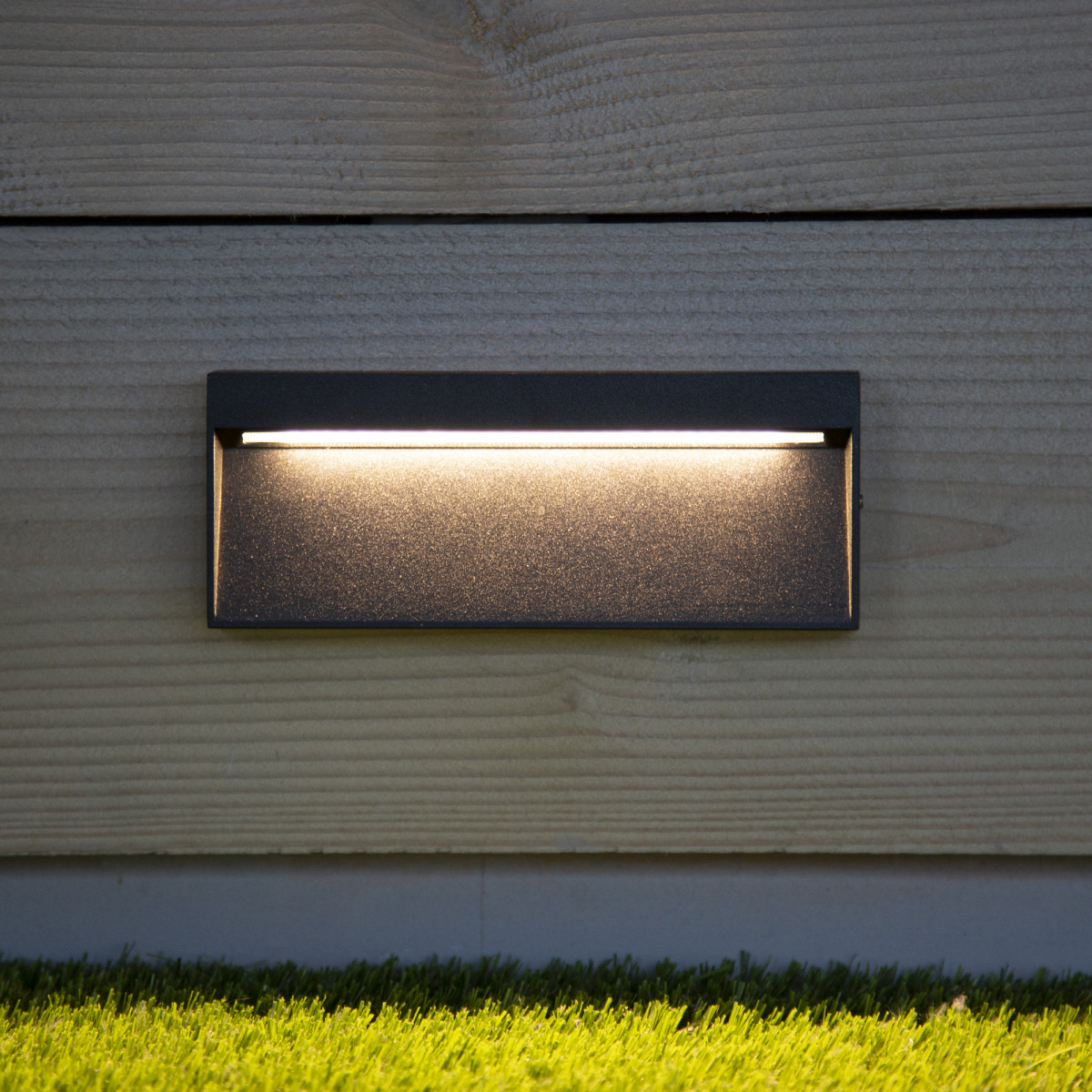 Wandspot LED downlighter Shadow Rechteck